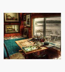 Artists Studio Nova Scotia Photographic Print