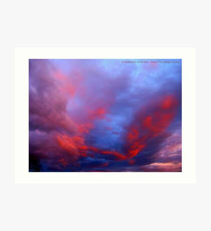 Under a Western Sky Art Print