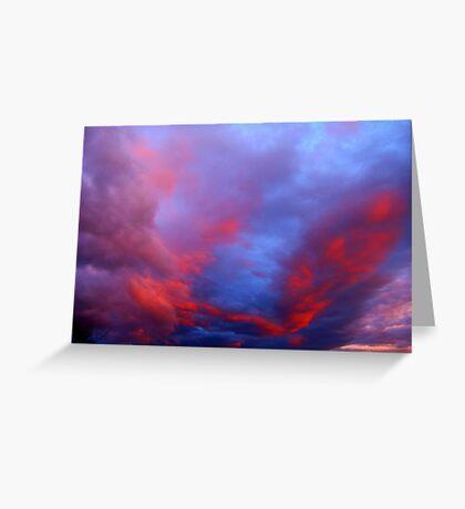 Under a Western Sky Greeting Card