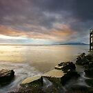 Solway Sunset by Brian Kerr