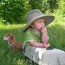 My Fishing Buddy and Me by Lady  Dezine