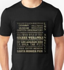 Los Angeles Famous Landmarks T-Shirt