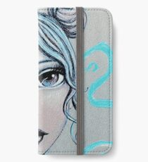 Space Buns for the Win iPhone Wallet/Case/Skin