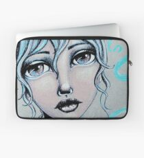 Space Buns for the Win Laptop Sleeve