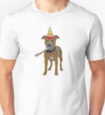 Pit Bull Birthday Unisex T-Shirt