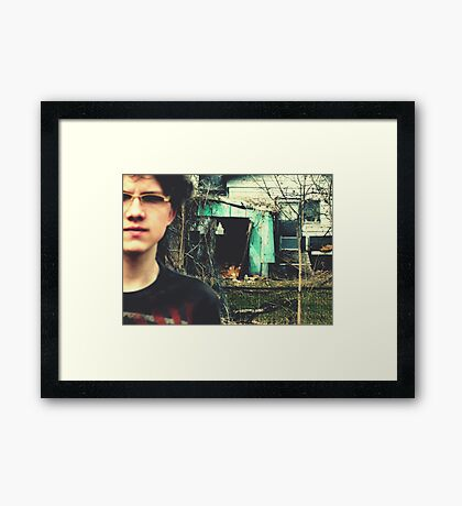 03-13-11:  The Ruse Framed Print