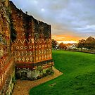 Another sunset on the Roman wall by opheliaautumn
