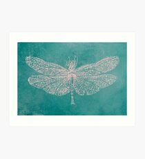 BRCA Dragon Fly  Art Print