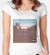 Pouya - South Side Slugs  Women's Fitted Scoop T-Shirt