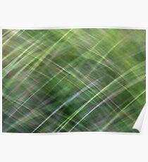 Impressionist Wild Grass Poster