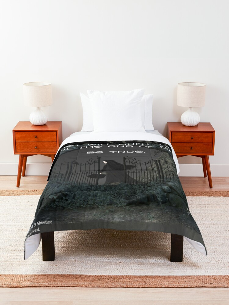 Alternate view of Penny Dreadful Vanessa's Omen and Warning Comforter