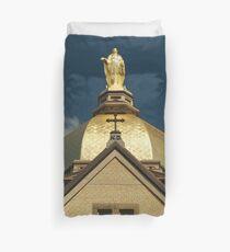 Golden Dome-University of Notre Dame Duvet Cover