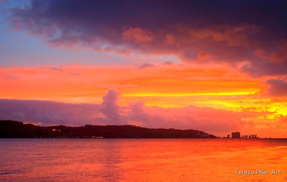 Lisbon sunset by terezadelpilar ~ art & architecture
