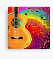 Musical Fantasy Painting SXSW festival Svetlana Novikova Canvas Print