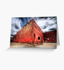 The Old King Candy Company - Fort Worth, Texas Greeting Card