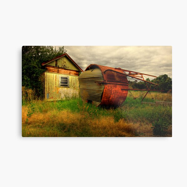 Fallen On Hard Times Metal Print
