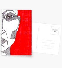 The face of a woman - faith and truth Postcards