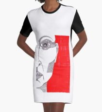 The face of a woman - faith and truth Graphic T-Shirt Dress