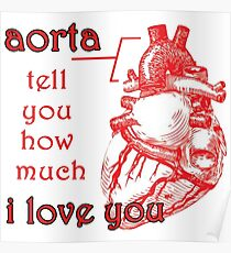 Aorta Tell You How Much I Love You Poster
