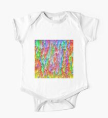 Abstraction Short Sleeve Baby One-Piece