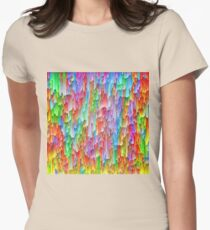 Abstraction Fitted T-Shirt