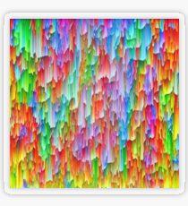 Abstraction Transparent Sticker