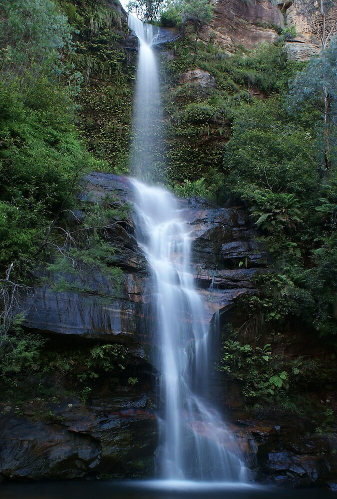 minnehaha falls by peter  jackson