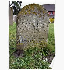 St.Peter's Churchyard, Limpsfield, Surrey Poster