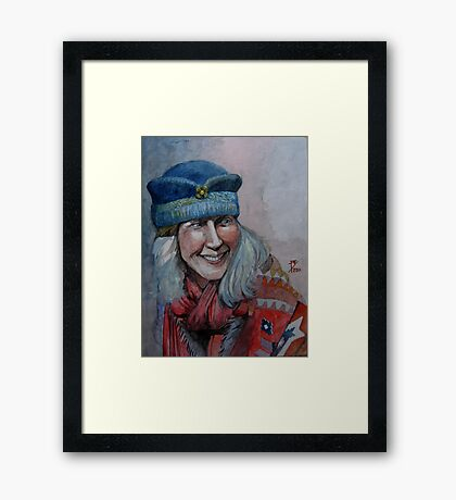 Tziganya (Gypsy Woman) Framed Print