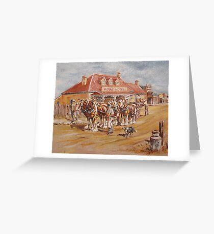 The Royal Hotel Greeting Card