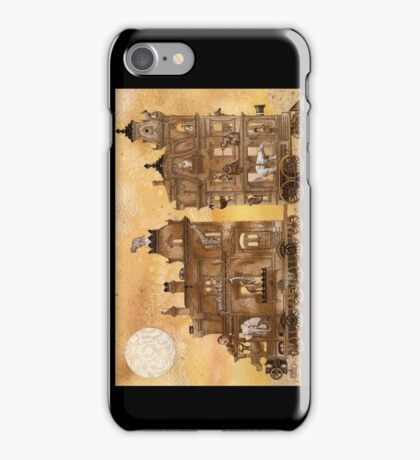 Zora Zendala's Mobile Menagerie iPhone Case/Skin