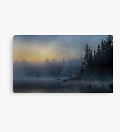 5am - Wilson Lake, Quebec Canvas Print
