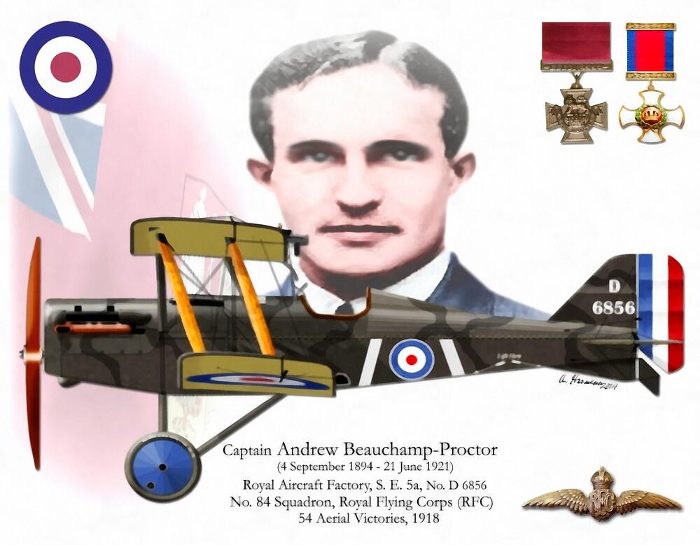 Quot Capt Andrew Beauchamp Proctor Quot By Ah Aviation Art