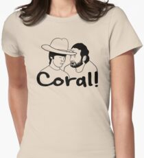 The Walking Dead- Coral Women's Fitted T-Shirt