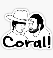 The Walking Dead- Coral Sticker