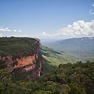 Blue mountains by Adriano Carrideo