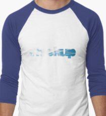 #Sieh nach oben Baseballshirt mit 3/4-Arm