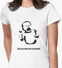 Siera© - Keys - Light Womens Fitted T-Shirt