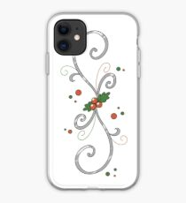 Holly Swirl iPhone Case