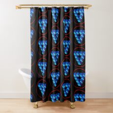 Penrose Triangle Shower Curtain