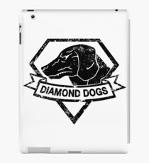 Diamond (Black) iPad Case/Skin