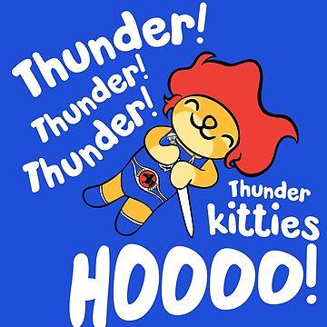 Thunder Kitty by kentcribbs