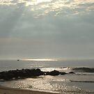 Silver Sea Sunrise - Ocean Grove, NJ by Anna Lisa Yoder