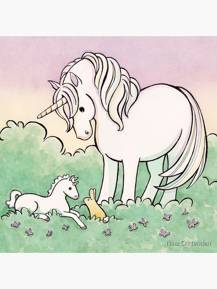 Baby Unicorn by ninacrittenden