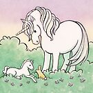Baby Unicorn by Nina Crittenden