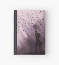 Butterfly Girl Hardcover Journal