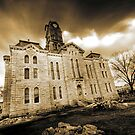 Under Construction - Courthouse - Grandbury,Texas by jphall