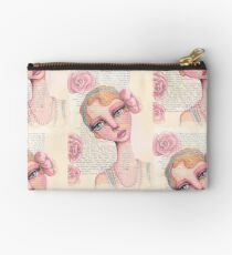 Flapper Girl Zipper Pouch