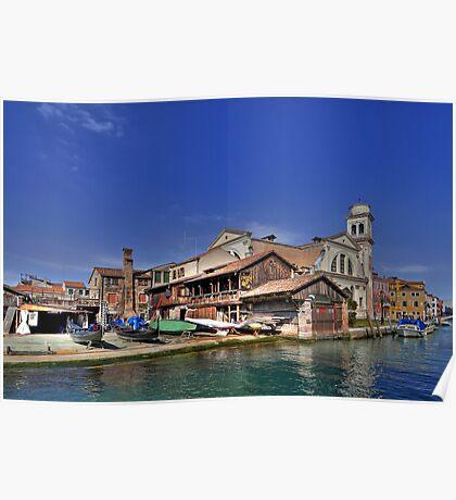 Squero di San Trovaso - Venice Poster
