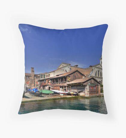 Squero di San Trovaso - Venice Throw Pillow